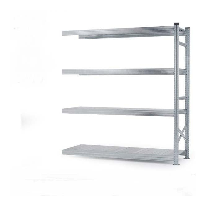 4 Tier Heavy Duty Metal Shelving Add-On Bay - 2000mm x 1500mm x 500mm
