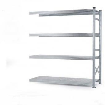 4 Tier Heavy Duty Metal Shelving Add-On Bay - 2000mm x 1800mm x 600mm