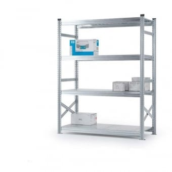 4 Tier Heavy Duty Metal Shelving Rack - 2000mm x 1500mm x 320mm