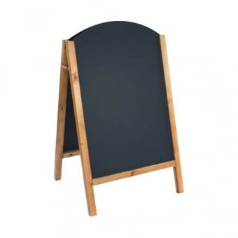 A1 Rounded Chalk A-Board
