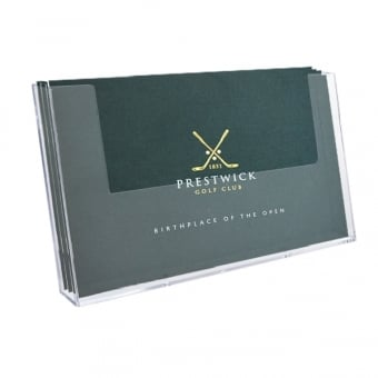 A4 Landscape Brochure Holder - Wall Mounted
