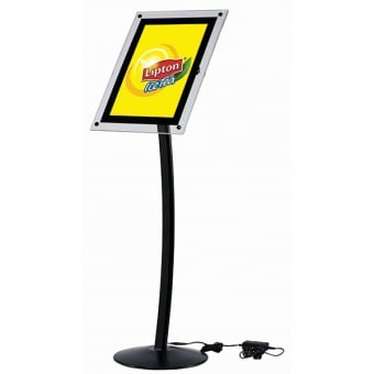 A4 LED Poster Display Stand
