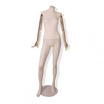 Articulated Egghead Female Mannequin