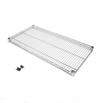 Chrome Wire Shelf - 600mm