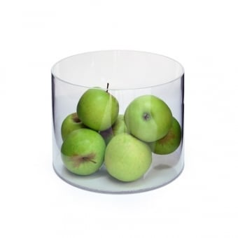 Clear Acrylic Cylinder Container - 150mm