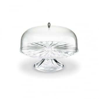 Clear Cake Stand with Acrylic Dome