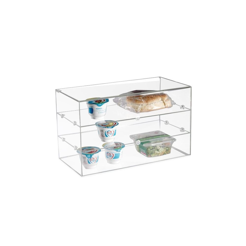 tier full countertop angled cases with vollrath pastry two display webstaurantstore acrylic bakery case size front anbcf cubic