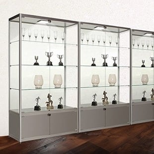 Trophy Cabinets & Glass Display Cabinets u0026 Cases | Locking Display Cabinets | Displaysense
