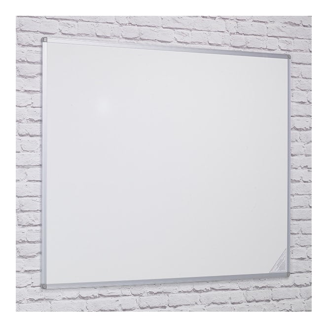 Double-Sided Whiteboard - Aluminium Frame 1200 x 900mm