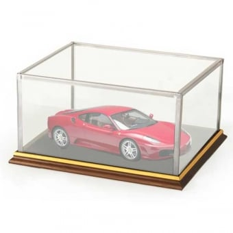Model Glass Display Case for 1:18 Model Car