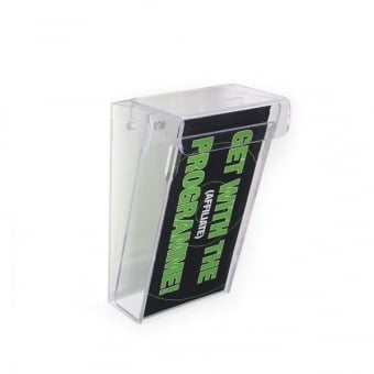 Premium Outdoor DL Portrait Leaflet Holder - Wall Mounted
