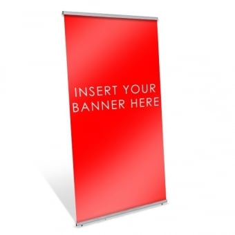 Single Sided Pull Up Banner Stand - 800mm