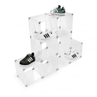 Small Acrylic Cube Shelving
