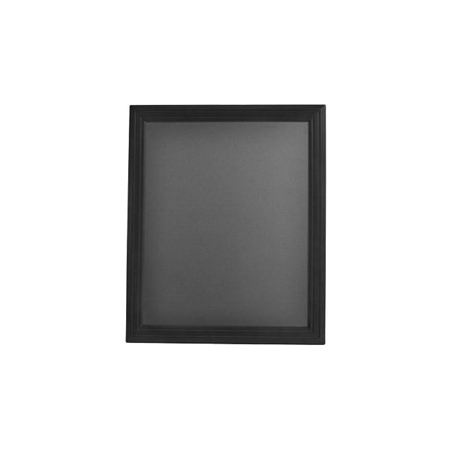 Small Wall Mounted Chalkboard with Black Frame