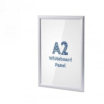 A2 Anti-Tamper Poster Snap Frame with PVC Whiteboard Insert