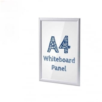 A4 Anti-Tamper Snap Frame with PVC Whiteboard Insert