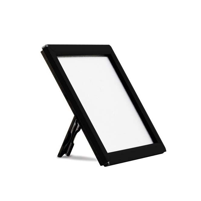 Stahldas A5 Counter and Wall Mountable Black Snap Frame