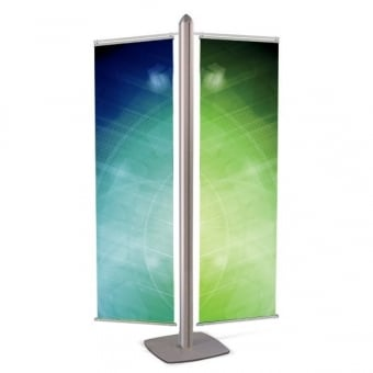 Double Banner Display Stand - MFS Range