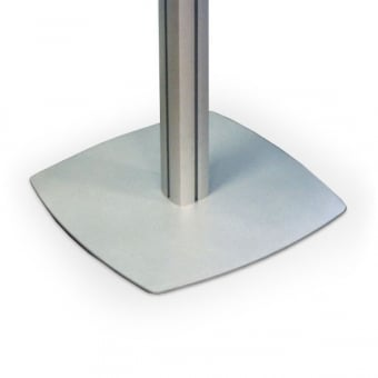 Four Channel Literature Display Stand and Base - MFS Range