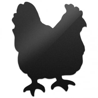 Wall Mounted Chicken Shape Chalkboard with White Chalk Marker