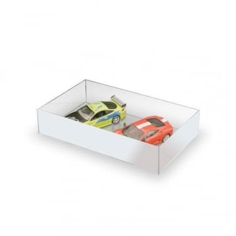 White Acrylic Display Tray