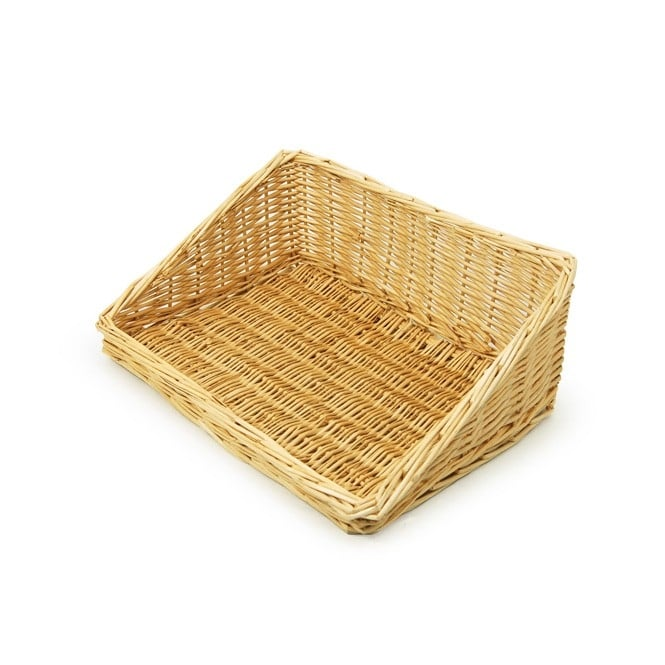 Wicker Food Display Basket - Landscape
